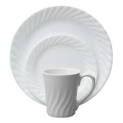 Corelle Vive Enhancements 16-Pc Set W/ Bonus 10-Oz Bowls ()