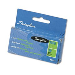 Discount -- S.F. 13 Heavy-Duty 1/4 Inch Leg Length Staples, 25-Sheet Capacity, 1,000/Box supplier