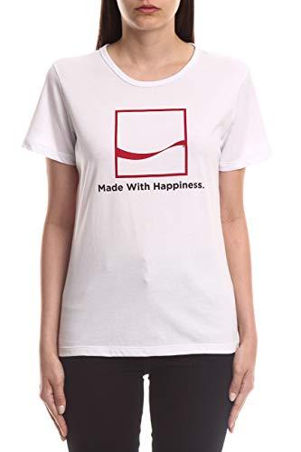 Camiseta Estampada, Coca-Cola Jeans, Feminino, Branco, P