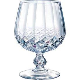 ARC Cristal D'Arques Longchamp Brandy Snifters, Set of 4 (Best Brand Of Brandy For Eggnog)