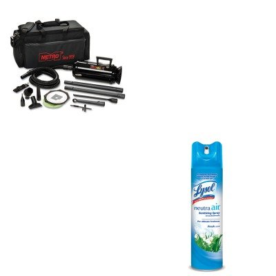 KITMEVMDV3TCARAC76938EA - Value Kit - Datavac Pro 3 Professional Cleaning System (MEVMDV3TCA) and Neutra Air Fresh Scent (RAC76938EA) by Datavac