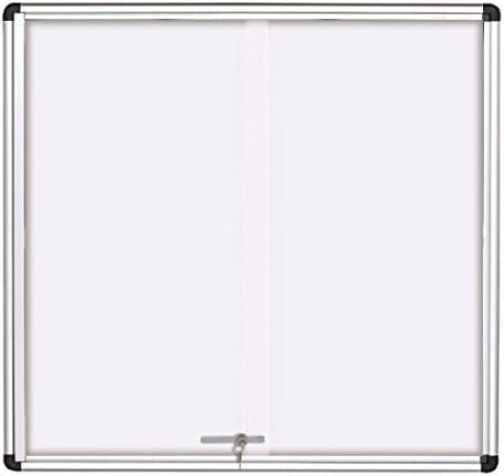 SGS SD 6 – Tablón de anuncios para interior con 6 puertas correderas de tamaño A4: Amazon.es: Oficina y papelería