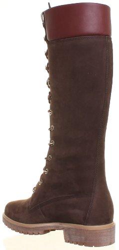 Timberland 3753R pour femme en cuir Nubuck Bottes montantes