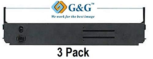 Search4Toner Compatible Replacements for Okidata 5210360, 52105801 for Oki ML-393, 393C, 395, Pacemark 3410, Black, 3PK, Lower Cost Alternative to Okidata Brand, Overall Defect Rates Less Than 1%