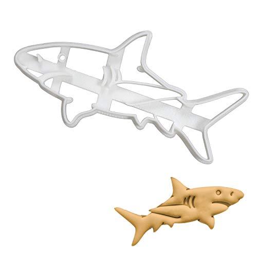 Great White Shark cookie cutter, 1 piece - Bakerlogy]()
