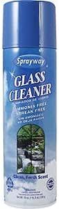 Sprayway Glass Cleaner, Ammonia Free, Streak Free, 19 oz (539 G)