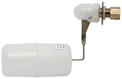 Float Valve, 1/4 In, SS/Plastic from BOBBY