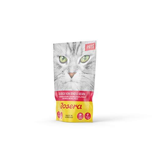 JOSERA Paté Super Premium getreidefreies Nassfutter für ausgewachsene Katzen in 6 Geschmacksrichtungen