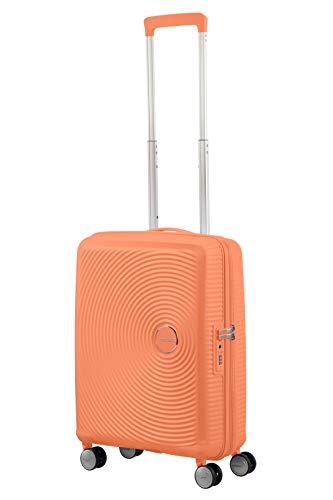American Tourister Soundbox - Spinner S Espandibile Bagaglio a Mano, 55 cm, 35.5/41 L, Arancione (Cantaloupe) 6 spesavip