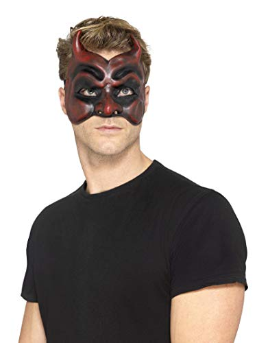 Masquerade Devil Latex Mask -
