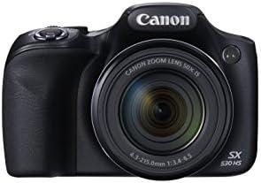 Canon PowerShot SX530 Digital Camera w/ 50X Optical Zoom – Wi-Fi & NFC Enabled (Black) 31nfAGhnU4L