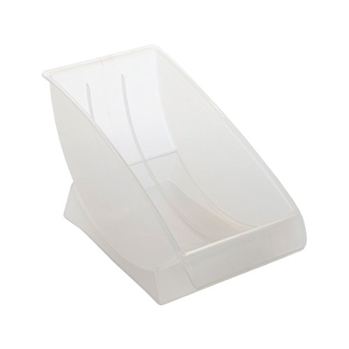 Home-X 9-Inch, Salad/Dessert Plate Holder. Holds Plates in Upright - Plate Cradle