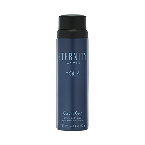 Calvin Klein ETERNITY for Men AQUA Body Spray, 5.4 oz