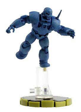 (Heroclix Marvel Classics #2-12 Iron Monger Figure Complete with Card)