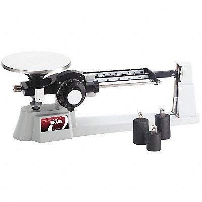 Ohaus 1650-W0 Dial-O-Gram Mechanical Balance, 2610 g Capacity, 0.1 g Sensitivity, 15.2 cm Diameter Platform, Stainless ()