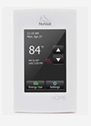 Nuheat Home Programmable Dual-Voltage Thermostat with Touchscreen, Floor Heating ()