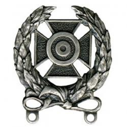 (Army Expert Shooting Badge Oxidized Finish - Regulation)