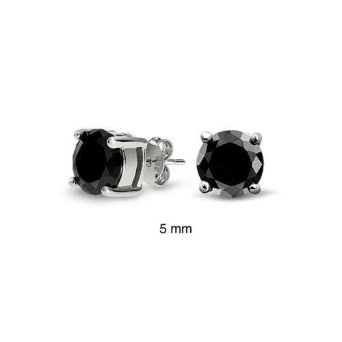 bling-jewelry-mens-unisex-cz-round-black-stud-earrings-sterling-silver-5mm