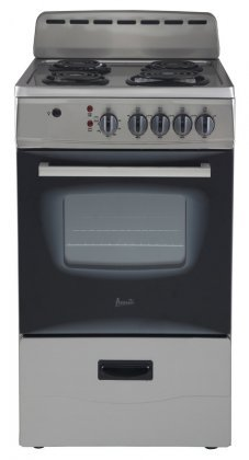 Avanti ER20P3SG Freestanding 20″ Electric Range, Stainless Steel
