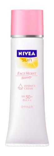 NIVEA SUN Face Moist Essence Cream SPF50+ 33g | UV Pretection (Japan Import)