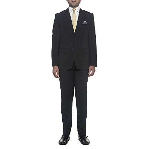 Nicole Miller NMAN Men's Suit Separate Jacket - Slim Fit, Navy Pin Stripe