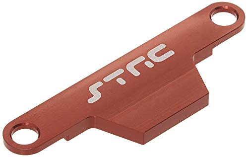 ST Racing Concepts ST3627XR CNC Machined Aluminum HD Battery Hold Down Plate (Stampede/Bigfoot) Red ()
