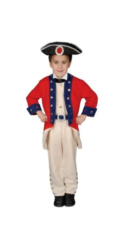 Costumes Child Colonial Soldier (Colonial Soldier Child Costume -)