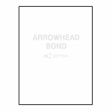 Ream Wrapped Letterhead, 8-1/2\