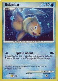 (Pokemon - Buizel - DP13 - Promotional (DP13) - Diamond and Pearl Black Star Promos - Holo)