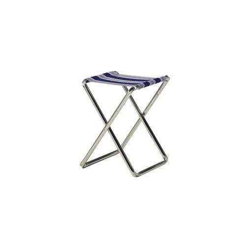 Taburete Plegable Gris//Azul 2014 Crespo Klapphocker