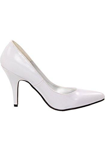 Ellie Schoenen Womens 8400 Pump White
