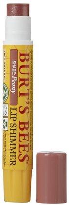 Burt's Bees Lip Shimmer-Peony (Quantity of 6)