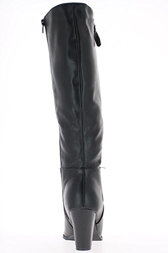 SFSYDDY-A Mio Agio Con Scarpe Grosse Un Unico Superficiale Bocca Scarpa E La Nuova 7Cm Scarpe Di Pelle Tacchi Alti Occupazione 36…