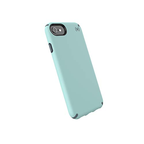 Speck Products Presidio Pro Cell Phone Case for iPhone 8 - Aquifer Blue/Stormy Grey -