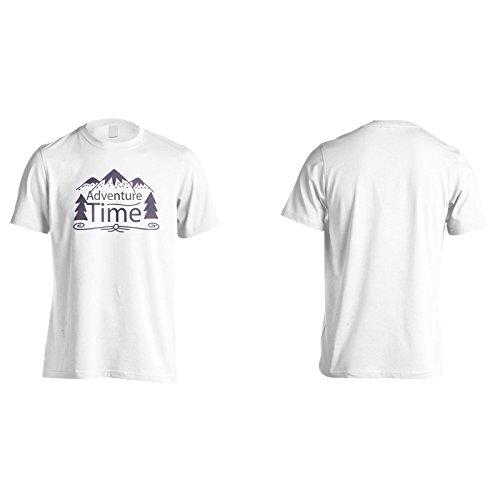 Neue Abenteuer Zeit Fluss Herren T-Shirt l831m