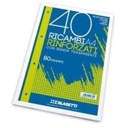 RICAMBI A4 RIGHE 0B 40FF