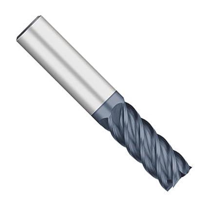 2-1//2 Overall Length 5 Flute 5//8 Length of Cut 7//16 Diameter Kodiak Cutting Tools KODIAK149345 USA Made High Performance Solid Carbide End Mill 7//16 Shank 45 Degree