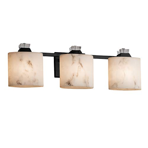 Justice Design Group Lighting FAL-8473-30-MBLK Ardent Bath Bar, Matte Black