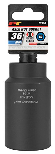Performance Tool W154 36mm  Front Wheel Drive Axle Nut Socket by Performance Tool