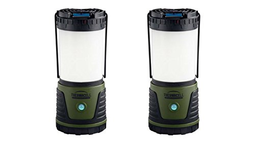 ThermaCell Bug Repellent Camp LED Light Bulbs Lantern Set of 2 by Thermacell