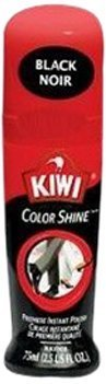 Kiwi 11311 2.5 Oz Black Color ShineTM Premiere Instant Polish