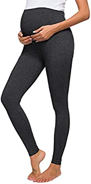 Liu & Qu Women's Maternity Stretchy Pants Soft Lounge Trousers for Pregna