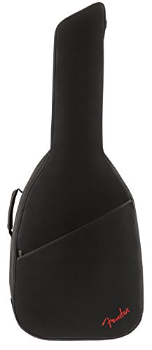Fender FA405 Dreadnought Acoustic Guitar Gig Bag (Straps Guitar Fender Acoustic)