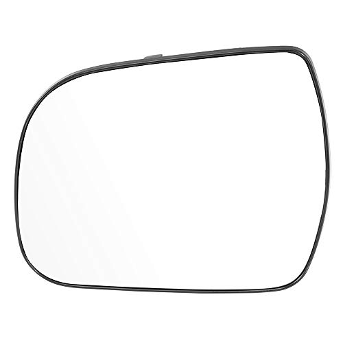 (ECCPP Driver Side Exterior Mirror Glasses, Left Side Rear View Mirror Glass Door Mirror Glass Replacement fit for 2011 2012 2013 2014 Toyota Sienna)
