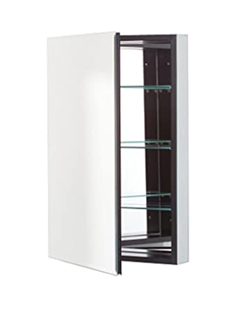 Robern PLM2030BB PL Series Flat Beveled Mirrored Door, 19 1/4 Inch
