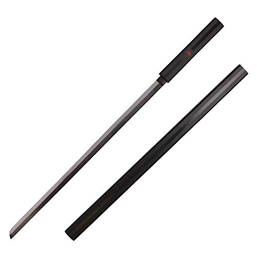 Avias Knife Supply 40 Inch Uchiha Sasuke Kusanagi Sword Grass Cutter Sword (Black Kusanagi)