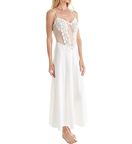 Flora Nikrooz Women's Showstopper Gown, Ivory, Medium