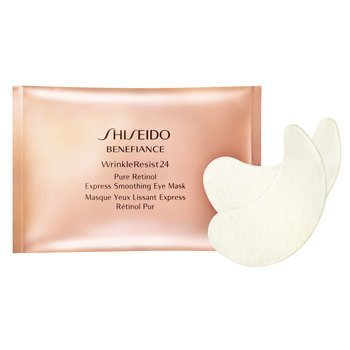 Shiseido Benefiance WrinkleResist24 Pure Retinol Express Smoothing Eye Mask 3 packetes x2
