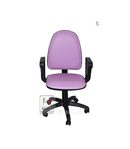 Sedia da scrivania con rotelle girevole per ufficio e cameretta in ...