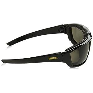 DeWalt DPG83-21 Converter Safety Glasses/Goggles - Black Frame - Smoke Anti-Fog Lens